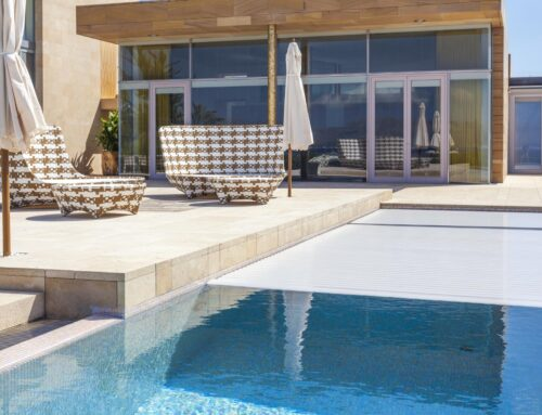 Pool covers. Functionality and design